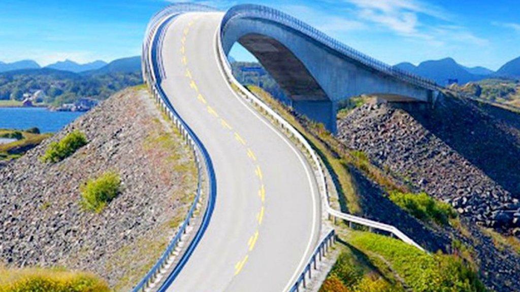 '포토샵인줄…' 세계에서 가장 아름답다는 도로의 실체